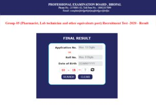 MPPEB Group 5 Result declared at peb.mp.gov.in, here's direct link - Times of India