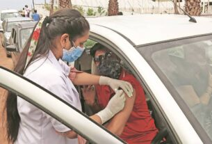 Queues grow longer at vaccination centres in Panchkula, residents demand police deployment to manage rush