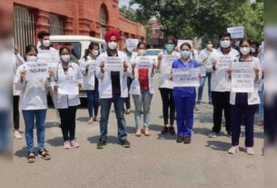 Shifted MBBS interns threaten to go on strike if they are not given internship - Times of India