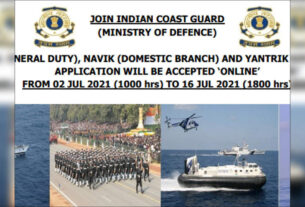 Indian Coast Guard recruitment 2021: Apply online for 350 Navik and Yantrik posts - Times of India