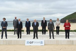 G7 calls for international shared mission to limit Afghan crisis
