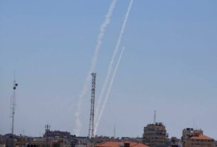 Israeli army says it fires back after 3 rockets from Lebanon