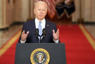 Biden defends Afghanistan pullout and declares an end to nation-building