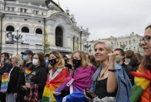 LGBT right, LGBT, Ukraine, Kyiv, LGBT hate crimes, Ukraine's labor laws, labor laws, world news, Indian express, indian express news, current affairs