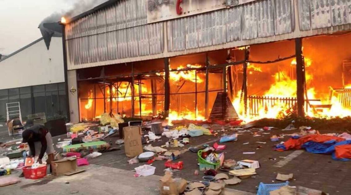 South African riots and a town that took to vigilantism