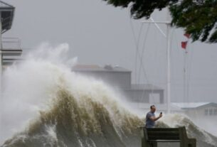 A US man confronted a reporter covering Hurricane Ida live on air. Now there's a warrant for his arrest.
