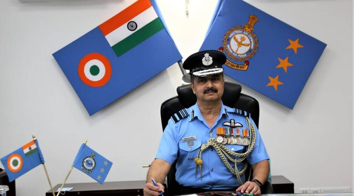 Air Marshal VR Chaudhari to be appointed IAF's new Chief of Air Staff