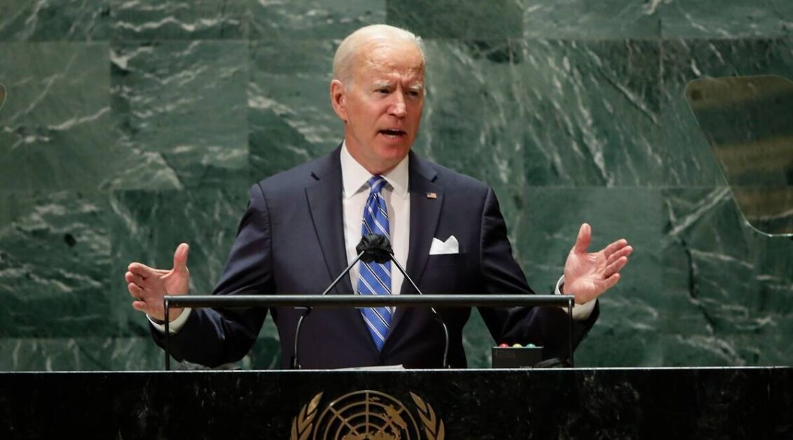 At Covid-19 Summit, Joe Biden sets ambitious goals for vaccinating the world