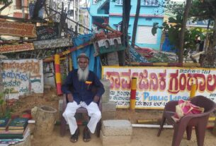 His library burnt down, Mysuru man now has books from across the globe but a new library remains a distant dream