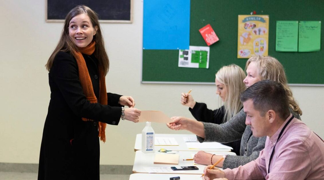 Iceland election: Women lawmakers outnumber men for first time