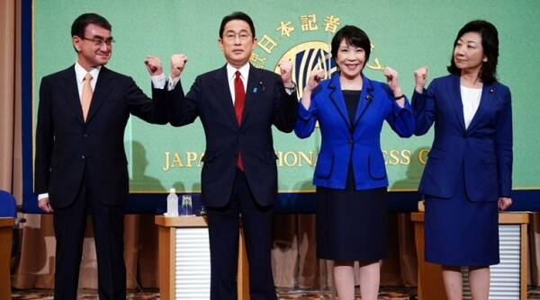 Japan, Japan presidential candidates, Japan Presidential election, Yoshihide Suga, LDP, nuclear energy, gender issues, World news, indian express, indian express news, current affairs
