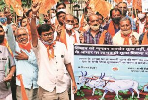 Over 100 farmers detained as BKS protests across Gujarat