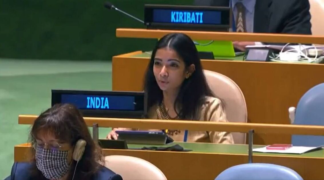 Pakistan globally recognised for supporting terror, still hails Osama as 'martyr': India at UNGA