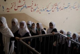 Some Afghan girls return to school, others face anxious wait