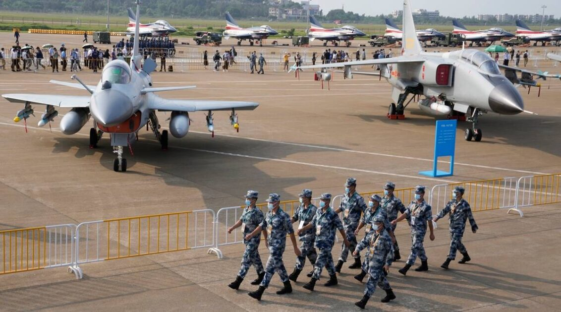 Tensions flare as Chinese flights near Taiwan intensify