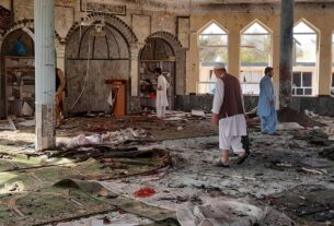 Blast hits mosque in northeastern Afghanistan, killing worshippers