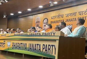 A day after quitting National Conference, Devender Rana, Surjit Singh Slathia join BJP