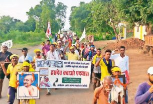 Chhattisgarh: 300-km march to save state's 'lungs' from mining