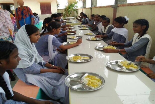 fortified rice india, mid day meals rice