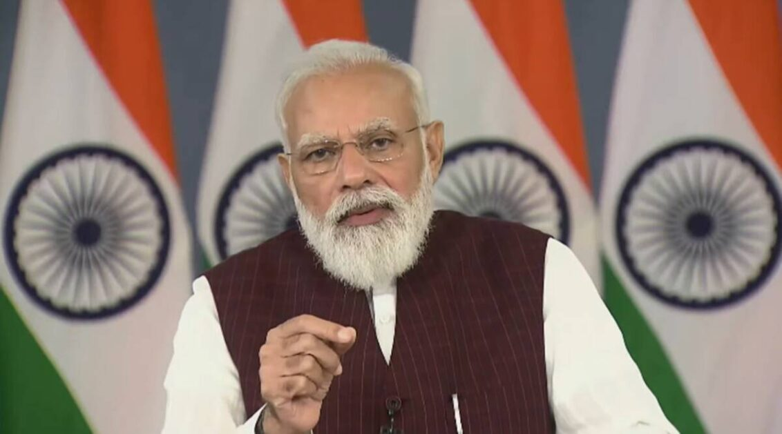Some see human rights violations in certain incidents, not in others: PM Modi